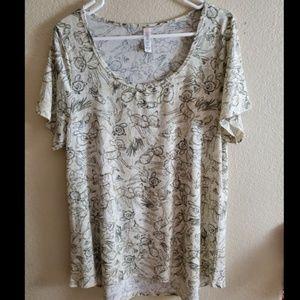 LuLaRoe XL Bambi Disney Classic T Shirt Top Tunic